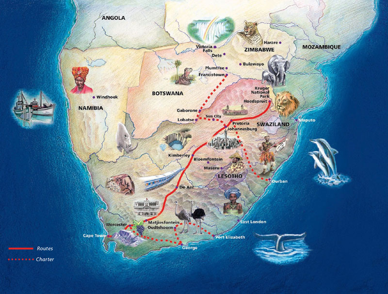 The Blue Train | A window to the soul of Africa