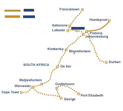 Pretoria – Kruger National Park | The Blue Train